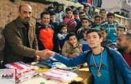 مركز شباب العراقى ينظم دورة رياضية للشباب والطلائع