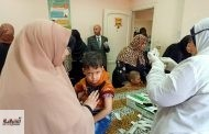 تطعيم أكثر من نصف مليون طفل في اليوم الثاني للحملة القومية ضد الحصبة والحصبة الألماني