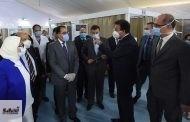 رئيس الوزراء يتفقد المستشفى الميداني بجامعة عين شمس تمهيداً لبدء تشغيله الخميس القادم لمواجهة فيروس كورونا