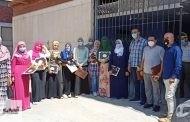 مسعود يكرم الفريق الطبي لههيا بعد تقديم الخدمة الطبية للمرضي بعزل مستشفي بلبيس