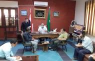 رئيس مدينة الزقازيق يناقش استعدادات المركز والمدينة لإمتحانات الثانوية العامة