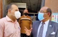 وكيل صحة الشرقية يفاجئ مستشفى أبوحماد المركزى