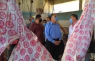 محافظ_الشرقية يتفقد مجزر ديرب نجم لمتابعة أعمال الذبح إستعداداً لإستقبال عيد الأضحي المبارك