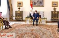 السيسي: يبحث مع وزير الخارجية السعودي القضايا الإقليمية