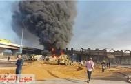 وزارة الصحة : إرتفاع مصابي حريق «المازوت» لـ 12 حالة ولا وفيات