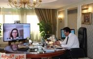 وزير التعليم العالي يلتقي وفد شركة «سيسكو» العالمية