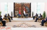 الرئيس عبد الفتاح السيسي يستقبل رئيس دولة إريتريا (صور)