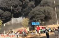 الصحة: إرتفاع إصابات حريق طريق القاهرة الإسماعيلية الصحراوي إلى ١٧ إصابة.. ولا وفيات