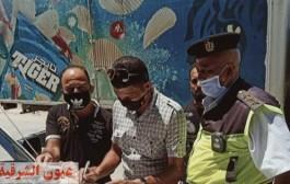 تغريم 52 سائق لعدم الإلتزام بإرتداء الكمامة الواقية لمواجهة فيروس كورونا المستجد بالشرقية