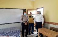 غراب يتفقد عدد من مقار اللجان الإنتخابية بمدينتي ديرب نجم والقنايات