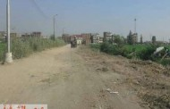 تحول طريق العراقى فى أبوحماد لمقبرة للمواطنين