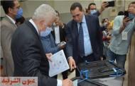 وزير التربية والتعليم يدلي بصوته في إنتخابات مجلس الشيوخ