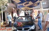 عروسان يدليان بصوتيهما في إنتخابات مجلس الشيوخ بديرب نجم