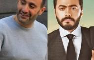 """إعتذار """"أحمد السقا"""" ل """"تامر حسني"""" بسبب فيلم """"الفلوس""""."""