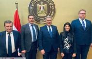 المشاط  تؤكد عمق العلاقات المصرية  -الأوكرانية