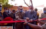 محافظ أسيوط وقائد المنطقة الجنوبية يكرمان نجل الشهيد أحمد محمد علي وعدد من الطلاب المتفوقين