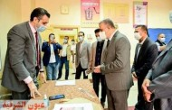 محافظ سوهاج يتفقد عددا من اللجان الفرعية للإطمئنان على سير العملية الإنتخابية