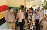 نائب محافظ الفيوم والسكرتير العام المساعد يتابعان سير العملية التعليمية بعدد من المدارس