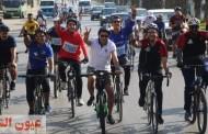 بمناسبة إحتفالات أكتوبر..وزير الرياضة يقود ماراثون الدراجات من المتحف المصري بالتحرير إلى المتحف الجديد بالرماية