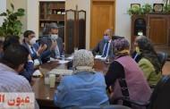 رئيس جامعة الزقازيق يجتمع بالفريق الطبي لوحدة الجهاز الهضمى والكبد بالمستشفيات الجامعية لمناقشة سبل تطوير العمل بالوحدة