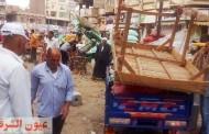 حملات مكبرة لرفع الإشغالات وإزالة الملصقات والدعاية الانتخابية من علي جدران المنشآت الحكومية بالزقازيق وفاقوس
