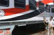 وصول دفعة جديدة من عربات السكك الحديدية لميناء إسكندرية