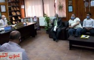 وكيل وزارة الصحة بالشرقية يجتمع بالإدارات الفنية لمناقشة إستعدادات مواجهة الموجة الثانية من فيروس كورونا