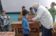 تطعيم أكثر من ٢٣٣ ألف طالب ضد الإلتهاب السحائي في أقل من أسبوع من بداية العام الدراسي الجديد بالشرقية