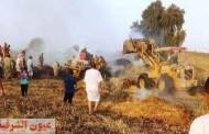 السيطرة على حريق بمعلف لتربية الماشية بديرب نجم..ومخزن للأدوات الكهربائية بمنيا القمح دون وقوع خسائر بشرية