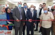 رئيس جامعة الزقازيق يفتتح معرض شعاع الخير بكلية التجارة