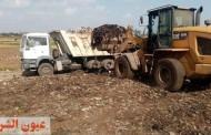 تكثيف أعمال رفع تراكمات القمامة بالمقالب العمومية بمركزي ديرب نجم وههيا