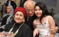 رشوان توفيق وزوجته قصة حب حتي الممات.