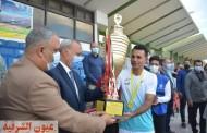 محافظ القليوبية يشهد  نهائي دوري مراكز الشباب لكرة القدم