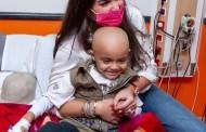 """زيارة """"ياسمين صبري"""" لمستشفي الأطفال لعلاج السرطان 57357."""