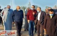 غراب محافظ الشرقية يتابع الأعمال الجاري تنفيذها لصيانة ورفع كفاءة كوبري العباسة بمركز أبو حماد