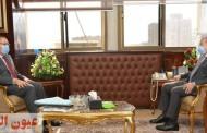 وزير التنمية المحلية يلتقي محافظ الشرقية لمتابعة تنفيذ بعض المشروعات التنموية