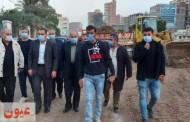 محافظ الشرقية يتفقد أعمال الرصف الجارية بشارعي بورسعيد و جمال عبد الناصر بمدينة فاقوس بتكلفة 5 مليون جنيه
