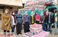 نائب رئيس جامعة الزقازيق تشهد فعاليات تسليم 1000 بطانية لتوزيعها على القرى والمراكز الأكثر إحتياجاً