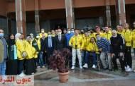 رئيس جامعة الزقازيق يستقبل الطلاب المشاركين في بطولة الجامعات لذوي الهمم بالإسكندرية