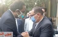 محافظ الشرقية يؤدي واجب العزاء والمواساة في وفاة والد النائب أحمد صلاح الطاروطي عضو مجلس الشيوخ بفاقوس