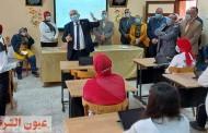 نائب وزير التربية والتعليم يتابع سير العملية التعليمية بإدارة شرق الزقازيق