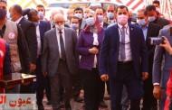 وزيرة التضامن الإجتماعي ورئيس الهلال الأحمر يتفقدان مجمع الأمومة والطفولة بالشرقية