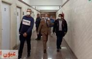 وكيل وزارة الصحة بالشرقية يتفقد سير العمل بالمعمل الإقليمي المشترك بالزقازيق..وفحص مايقارب ٥٠ ألف مسافر لفيروس كورونا