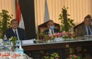 مجلس جامعة الزقازيق يتخذ قرارات هامة في حضور وزير القوي العاملة ومحافظ الشرقية