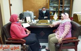 نائب مجلس إدارة جمعية الهلال الأحمر المصري فى حوار مع عيون الشرقية الان