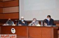 وزير الأوقاف يتفقد فعاليات التدريب بأكاديمية الأوقاف الدولية