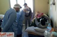 وكيل وزارة الصحة بالشرقية يتفقد سير العمل بمستشفي الحسينية بعد وفاة ٤ حالات بالعناية المركزة..وينفي ما تم تداوله عن إنقطاع الأكسجين عن مرضي كورونا