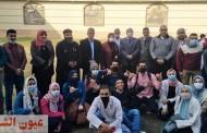جامعة الزقازيق توجه قافلة طبية بشرية وبيطرية لقرية القراقرة بمنيا القمح وسط إجراءات إحترازية مشددة
