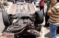 مصرع وإصابة ١٢ عاملًا في إنقلاب سيارة بالصالحية الجديدة