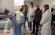 وكيل وزارة الصحة بالشرقية يتفقد سير العمل بمستشفي كفر صقر المركزي ووحدة طب الأسرة بالمؤانسة